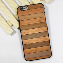 Fit for iPhone 4 4s 5 5s 5c se 6 6s 7 plus ipod touch 4 5 6 back skins phone case cover Wooden Peach Coloured