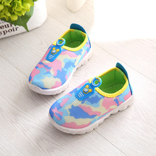 BBM The latest spring and autumn 2017 new children canvas shoes girls shoes fashion casual small floral  fashion sneakers