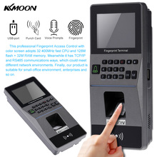 Biometric Fingerprint Access Control System Door Lock TCP/IP RS485 Time Attendance Machine Electric RFID Card Reader ID/MF Card