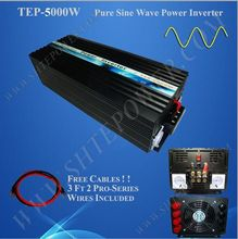 48VDC to 220v/240VAC power inverter 5000w, pure sine wave inverter 5kw for off grid solar system(China)
