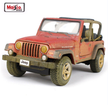 NEW ARRIVAL Maisto 1:27 Jeep Wrangler Rubicon Alloy Diecast Car Model Toy Kids Gifts New In Box Free Shipping(China)