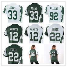 Women's Jamal Adam Joe Namath Leonard Williams Matt Forte Muhammad Wilkerson Nick Mangold Eric Decker Custom Jets Women Jersey(China)