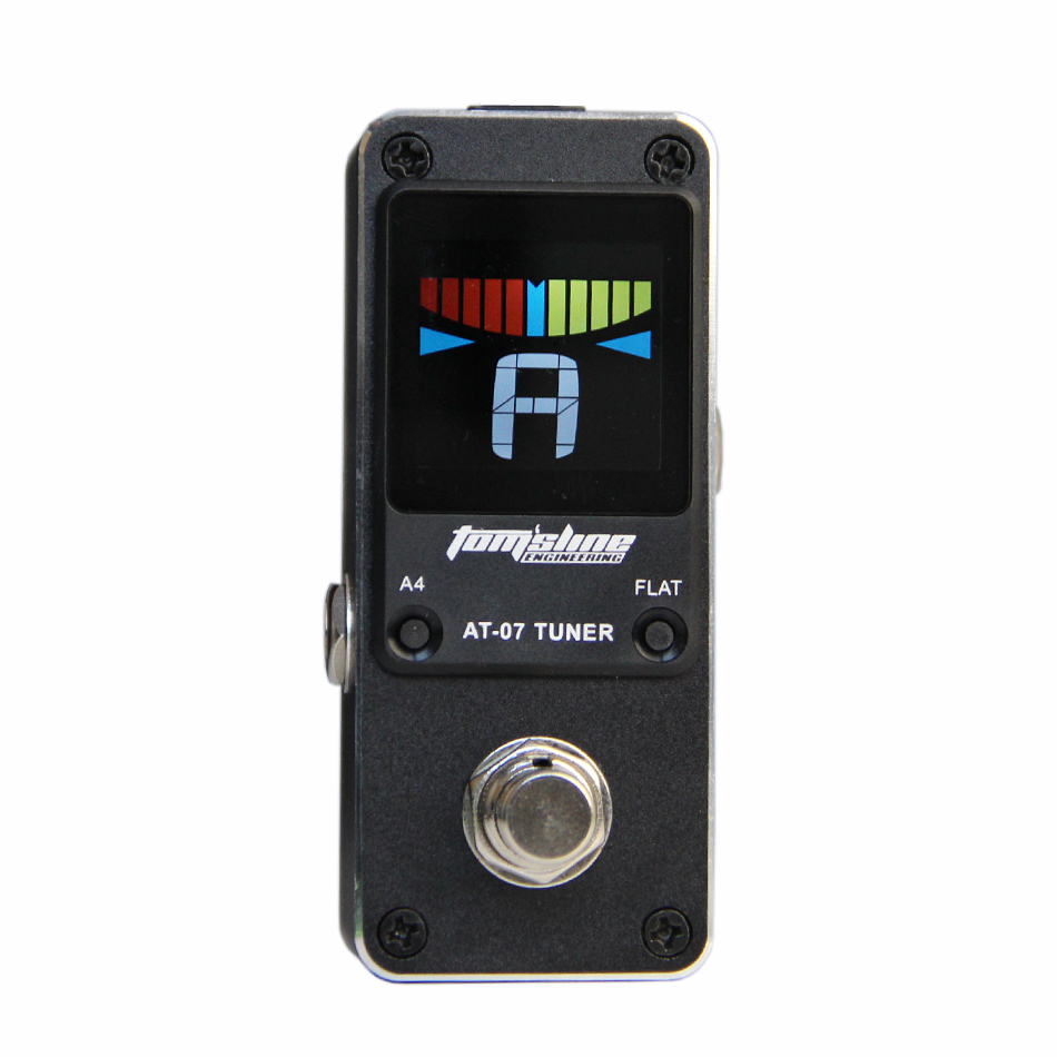 Aroma Tuner AT-07 Very small and compact design chromatic NEW Effect Guitar Pedal <br><br>Aliexpress