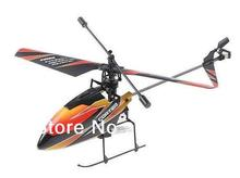hot promotion 2.4G 4CH Bare Single Blade Gyro RC MINI Helicopter Outdoor V911 without remote controller or battery(China)