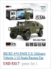 LED-Licht System Elektronische Teile für 1//10 HG-P408 RC Military Car Crawler