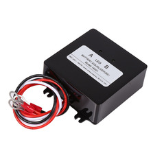 HA01 Solar System Battery Balancer Battery Equalizer Charger Controller for 2*12V Lead Acid Battery Bank System Black Wholesale