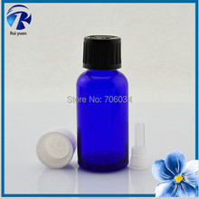 Essential Oil Glass Bottles 30ml Blue Transparent Glass Bottles Cosmetics Perfume Glass Bottle E-Liquid E-Juice E Liquid 30ml