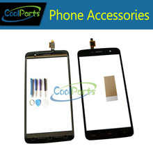 Buy 10PC/Lot High 5.5Inch Homtom HT17 HT17 Pro Touch Screen Digitizer Touch Panel Lens Glass Tool&Tape Black Color for $34.00 in AliExpress store