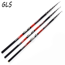 Rock Fishing Rod 2.4m 3.0m 3.6m 4.5m 5.4m 6.3m Telescopic Fishing Rod Superhard Rod Carbon Fishing Rod Spinning Fishing Pole(China)