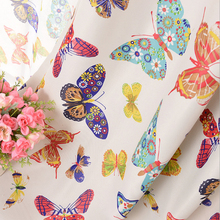 byetee Customized Pastoral Cortinas Blackout Curtains For Living Room Butterfly Curtains Bedroom Curtains Livingroom Curtain
