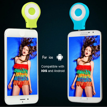 Portable Selfie Light Camera LED Flash Synchronizer Speedlight for iPhone Android Phone External Mini Selfie Flash Light Flash