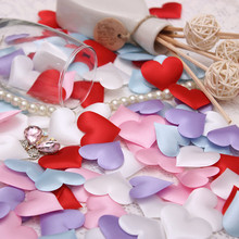 1000PCS/lot Vintage Wedding decoration throwing heart petals bridal shower valentines day event party marriage supply