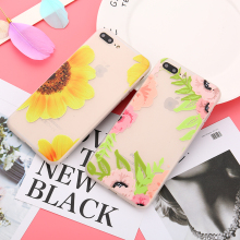 Buy Flower Silicone Matte Case iPhone 8 7 6S Case Soft Rose Floral Phone Cases Back Cover iPhone 7 6 8 Plus Sunflower Leaf for $1.89 in AliExpress store