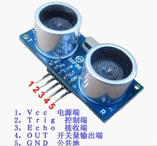 5Pin HY-SRF05 Ultrasonic Distance Sensor Module Replace SR04 Module