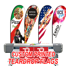 Free ship Graphic custom printing teardrop flag beach flag banner graphic replacement promotion celebration advertising event(China)