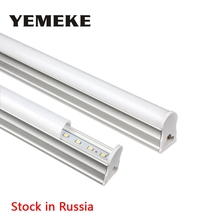 Stock In Russia T5 LED Tube Light 10W 60cm Fluorescent Tube Lamps Cold White Led Bulb Light LED Fluorescent T5 Neon LED lamps(China)
