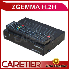 1PC Zgemma Star H.2H Satellite Receiver DVB-S2 Hybrid DVB-T2/C Set Top Box Linux Operating System 2000 DMIPS CPU PROCESSOR