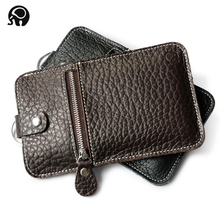 Cow Leather Phone Bag Multifunctional Purse Wallet Brand Mini Women Handbag Wallets Famous Brand Genuine Leather Hand Bag Man