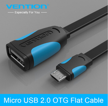 Vention Micro USB OTG Cable Adapter for Samsung S4 S3 HTC LG Sony Xiaomi Meizu Nokia N810 Nexus7 Android mobile phone Tablet MP3(China)