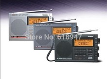 TECSUN PL-600 Full-band Synthesized Stereo Digital tuner tunning AM FM LW SW SSB Shortwave Portable Radio with clock