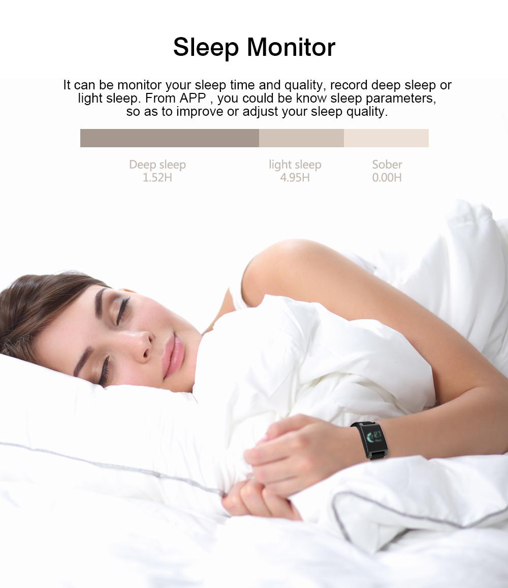 FREZEN Smart Bracelet DM68 Smart Band Fitness Sleep Activity Tracker Blood Pressure Oxygen Heart Rate Tracker For Android IOS 15