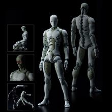 Synthetic Human Action Figure Variant Male Body Doll PVC figure Garage Kit Toys Brinquedos Anime 30CM