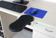 Ergonomic Design Desk Attachable Computer Table Arm Support Mouse Pads Arm Wrist Rests Hand Shoulder Protect Pad(China)