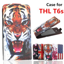 100% High Quality Leather Case For THL T6S / T6C cellphone Flip Cover Case housing For THL T 6S / T6 S Mobile Phone cover Cases