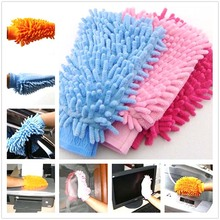 Hot Cleaning Glove Cleaner Mitt for household Car Desk Furniture Windows Kitchen Supply