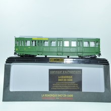ATLAS EDITIONS GREEN train models 1:87 LA REMORQUE SNCF ZR-13600 1938 ZR-13601 for collect car model