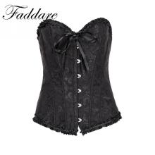 Fashion Corsets and Bustiers Gothic Underwear Wedding Dress Sexy Lingerie Black Red White Blue Women Corset