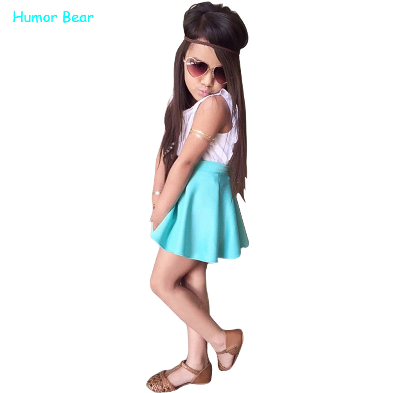 Humor Bear Girls Clothes Fashion European And American Suits Children Clothing Set Summer Sport Suit Kids Clothes Set<br><br>Aliexpress