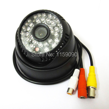 "700TVL Sony CCD HD 1/3"" Security 48 IR LEDs Color Dome Indoor for Day / Night CCTV Camera with IRCUT Audio,3.6mm 1080P Lens(China)"
