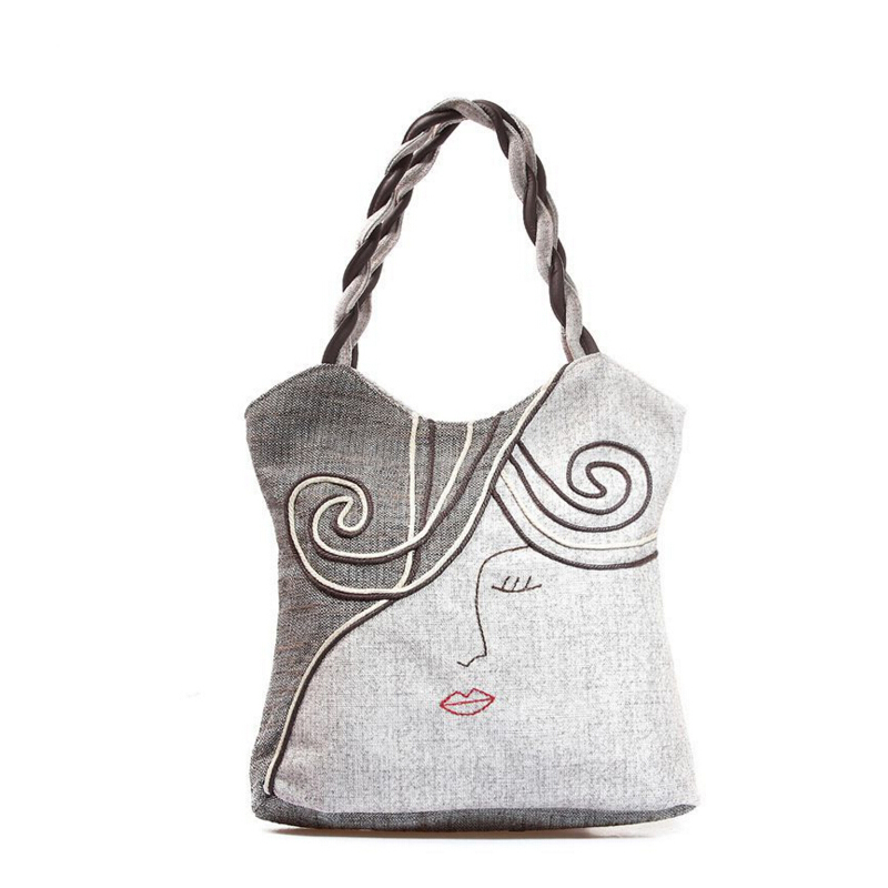 Woman Canvas Bag High Quality Bolsas Femininas Women Handbag Female Messenger Bags Vintage National Shoulder Crossbody Handbags<br><br>Aliexpress