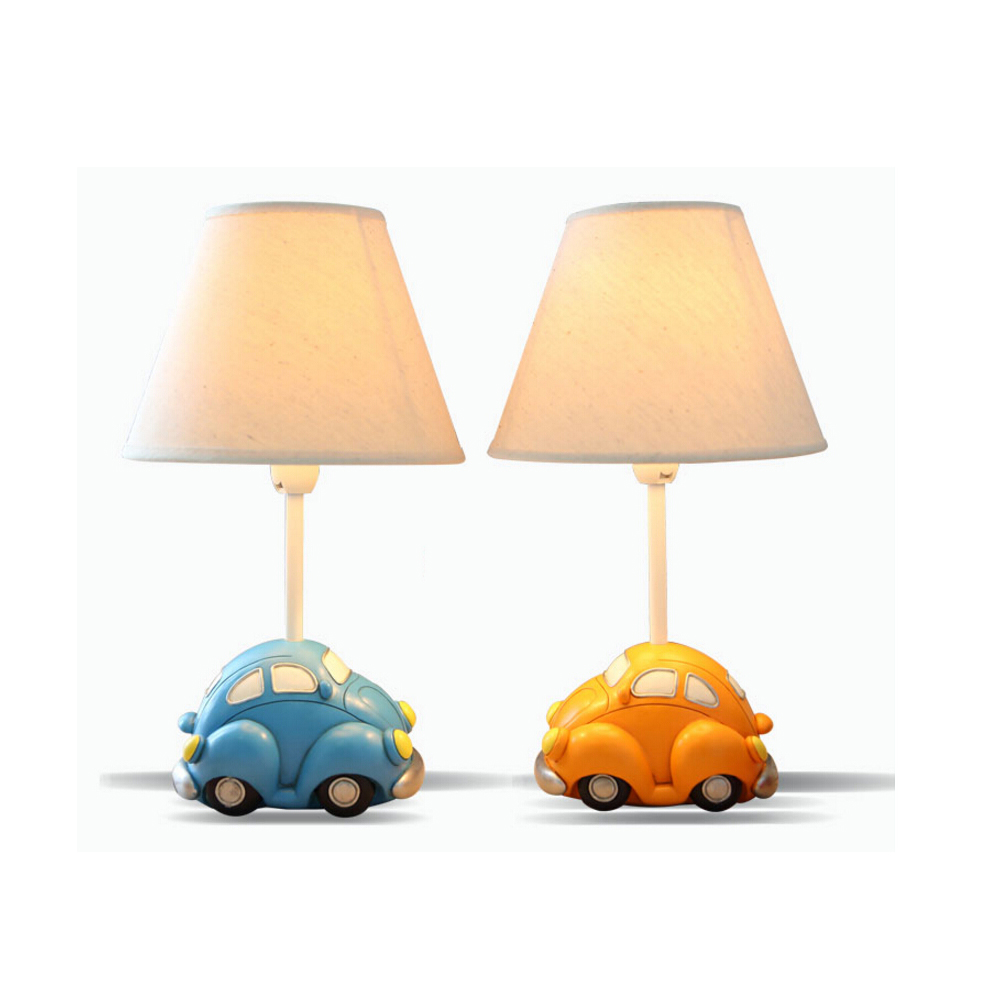 E14 AC 110V-220V High Quality Car Model Kids Wooden Desk Lamp Contemporary Table Lamps Switch Button Reading Bed Light<br><br>Aliexpress