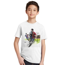 Buy Fashion Kids T-shirts 2017 Summer Sports Short-sleeved Boy Children T-shirt Football Cotton Casual Boys Clothes T shirt Top for $5.18 in AliExpress store