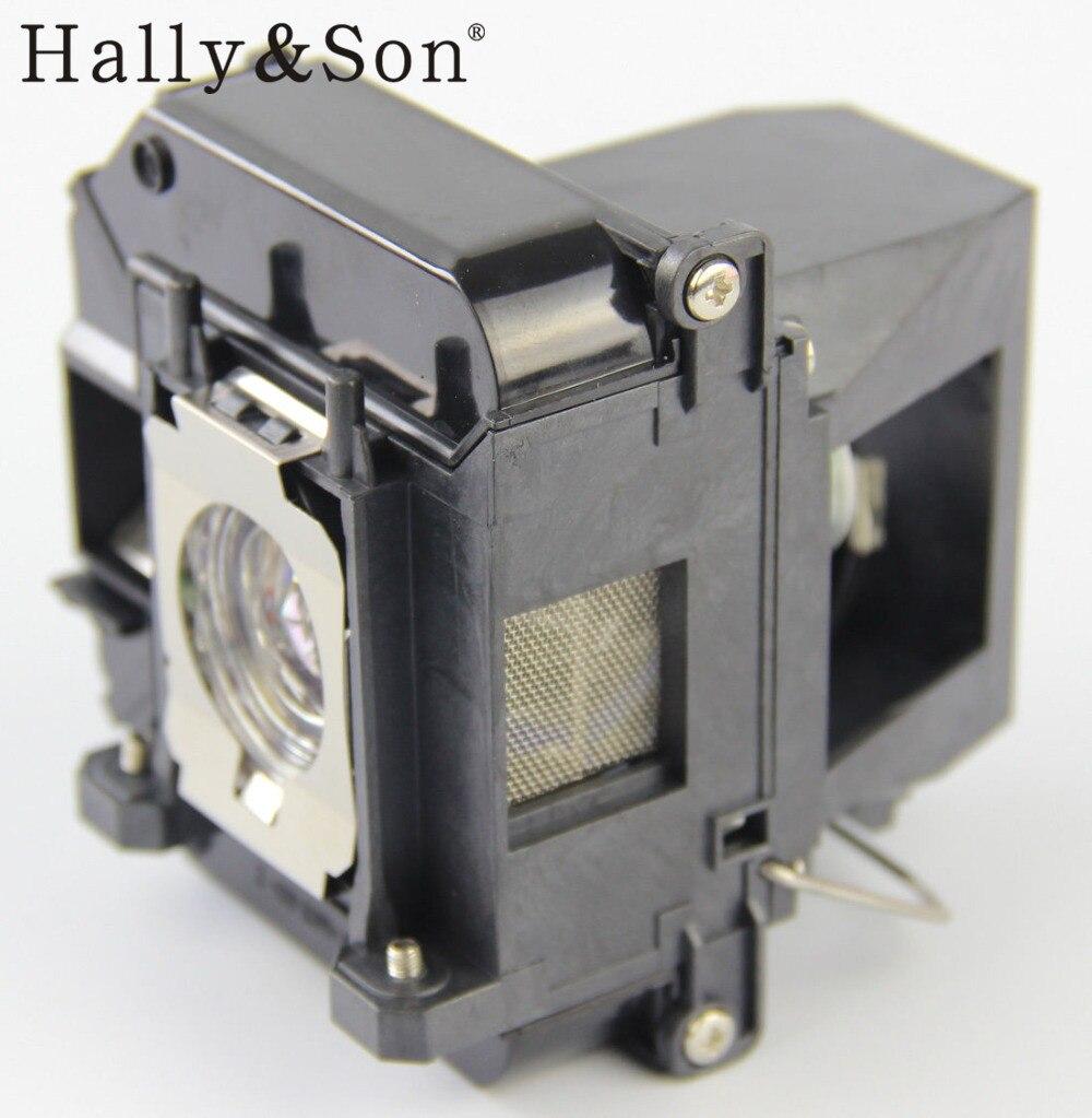 Hally&amp;Son ELPLP60 Projector Lamp Bulb for EB-420 / EB-425W / EB-900 / EB-905 / EB-93 / EB-95<br>
