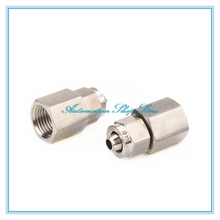 Fast twist 6mm 8mm 10mm 12mm Tube Pipe Fittings Female Threaded Stainless Steel SS 304(China)