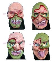 Free Shipping  , good quality, Halloween horror mask,  rubber grimace mask,stone style,party suppliers