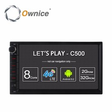 "Ownice C500 Android 6.0 Car GPS Universal Stereo Radio 2 Din Player 7"" 4core 2GB RAM 16GB ROM Support DAB+ 4G LTE WIFI no dvd(China)"
