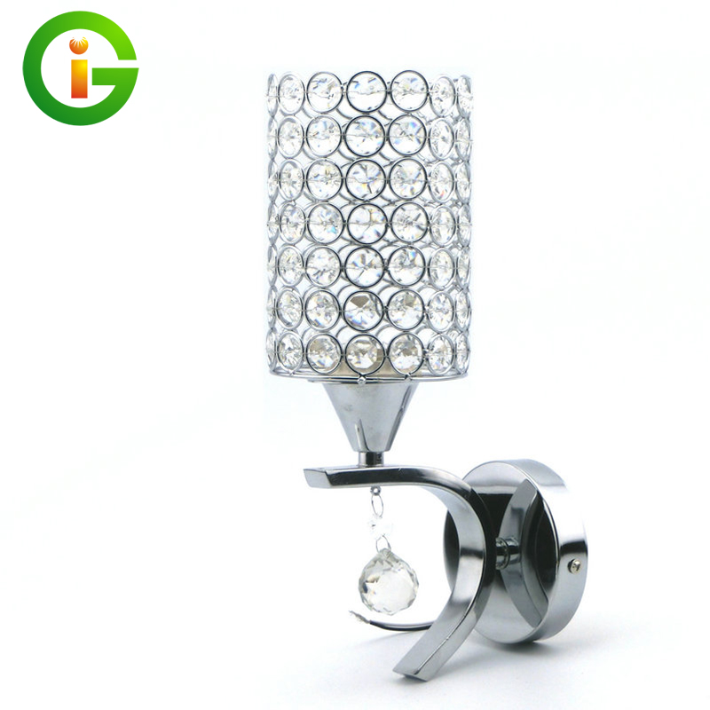 E27 LED Crystal Wall Lamp  Fashion home lighting  Free shipping and give a LED Bulb as a present<br><br>Aliexpress