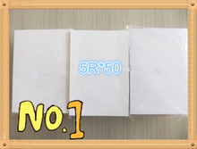 5R*50 sheets  High quality double side RC photo paper manufacture