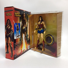 Anime Figure Superheroes Wonder Woman the flash batman Green Lantern Aquaman PVC Figure Collectible Model Toy 17cm