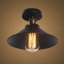 American Vintage Ceiling Lights lamps for Living Room bedroom luminaria de teto e27 modern Ceiling lamp Home Lighting Fixtures(China)