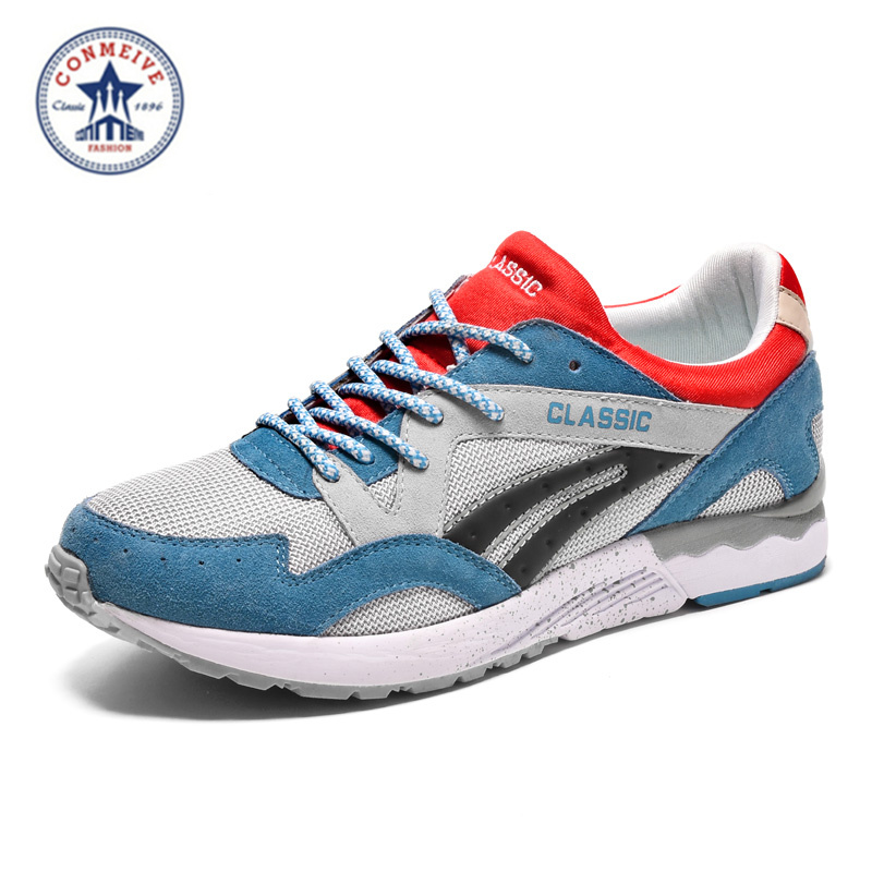 2017 Limited Direct Selling Hard Court Medium(b,m) Conmeive Brand Spring Mens Running Breathable Sports Shoes Retro Men And<br><br>Aliexpress