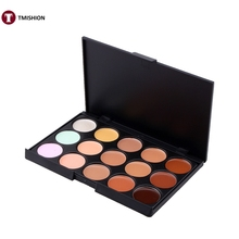 SALE 15 Colors Concealer maquiagem Brighten Concealer Palette Makeup Face Make up Set Palette Contouring Cream Base Cosmetics(China)