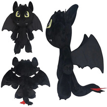 30cm Night Fury Plush Toy How To Train Your Dragon 2 Toothless Dragon Stuffed Animal Dolls