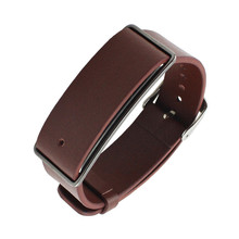 Perfect Gift  watch strap Replacement Leather Wrist Strap Watchband For Huawei Honor Band A1 Watch  Levert Dropship Mar21