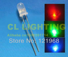 Automatic slow flashing led 5MM RGB 2-PIN led bulb color changing fancy lamp 3.0-3.5V(strip light led)