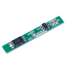 5pcs 1S 3.7V 2.5A Lithium Battery Protection Board Polymer BMS PCM PCB Over Charge Discharge Li-ion Protect Module